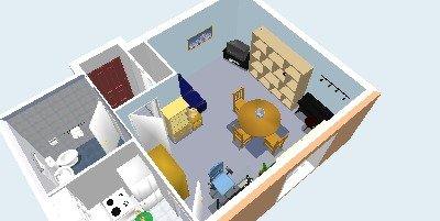 Načrt bivalnega prostora