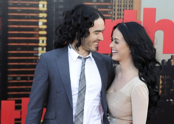 Russell Brand in Katy Perry