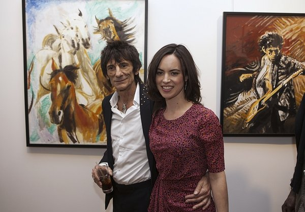 Ronnie Wood, razstava v New Yorku - 2