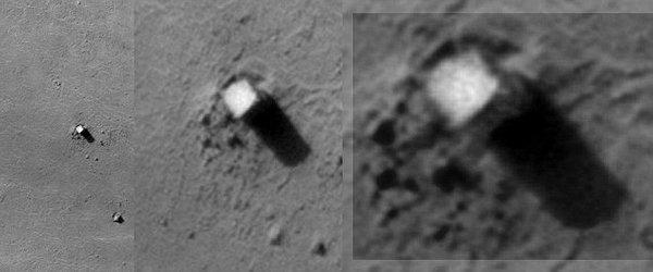 Presenetljiv objekt na Marsu - 3
