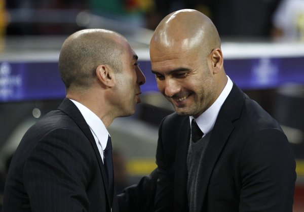 Roberto di Matteo in Pep Guardiola