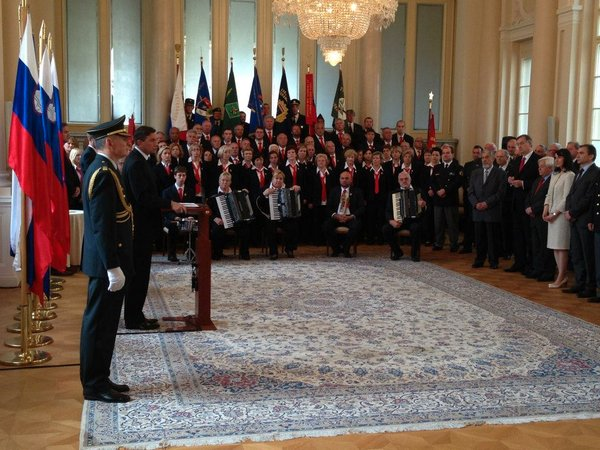 Pahor in Tržaški partizanski pevski zbor