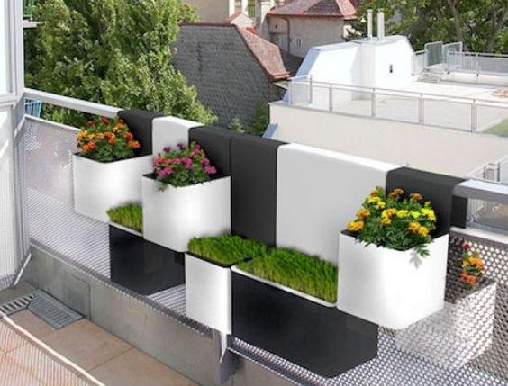 Odli ne ideje za va balkon for Balcony ki design