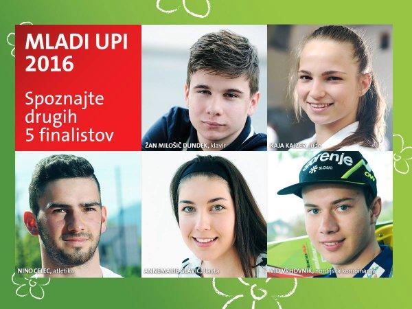 Drugih 5 finalistov razpisa Mladi upi
