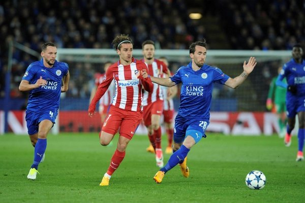 Leicester - Atletico Madrid - 9
