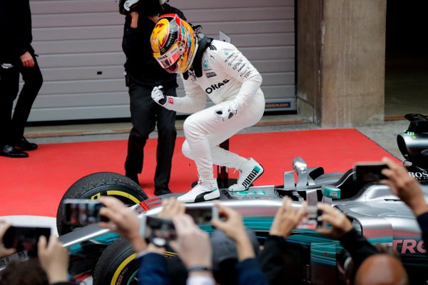 Lewis Hamilton VN Kitajske 2017 - 2