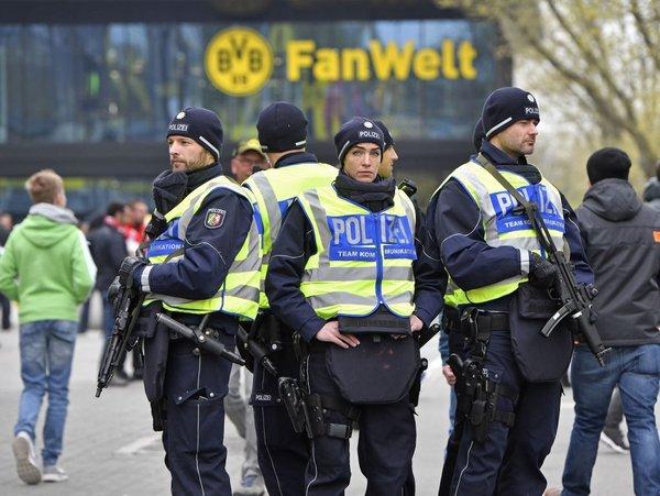 Poostrena varnost v Dortmundu