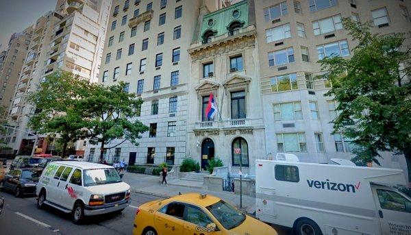 Poslopje bivše SFRJ na elitni lokaciji sredi New Yorka