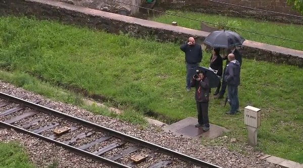 Leben na ogledu železnice v Črnem Kalu