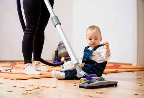 Čiščenje otroške sobe