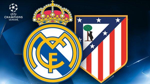 Real Madrid : Atletico Madrid