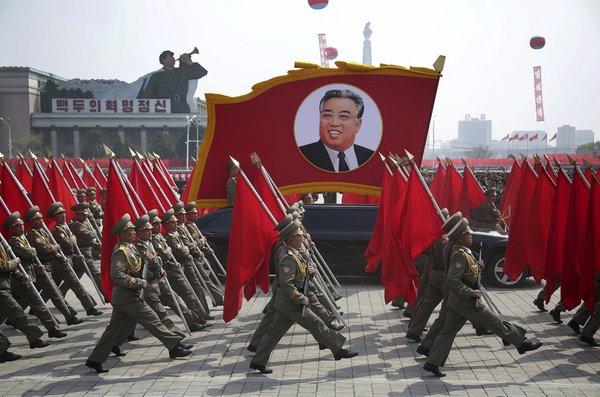 vojaška parada v Severni Koreji - 6