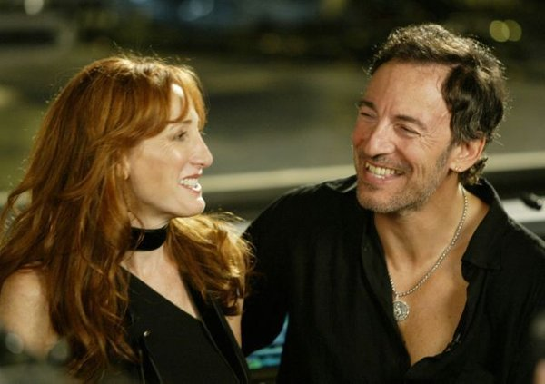 Bruce Springsteen in Patti Scialfa