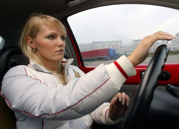 V avtošoli