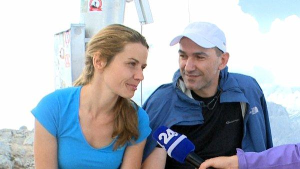 Janez Janša in Urška Bačovnik