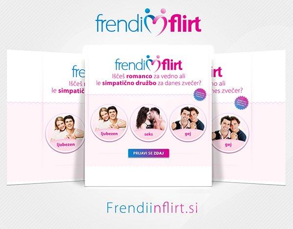 frendi in flirt reklama
