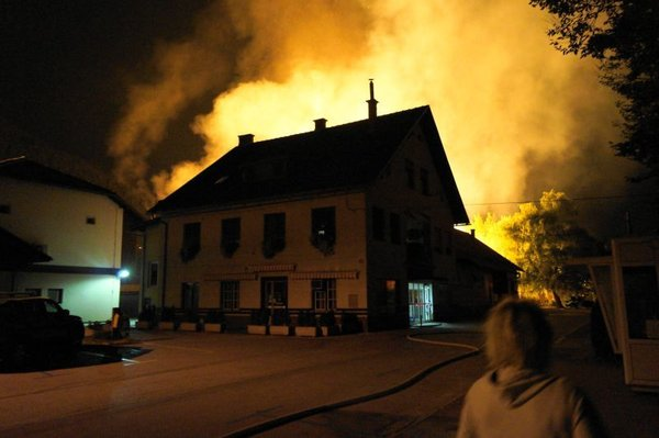 Požar skladišča v Borovnici - 4