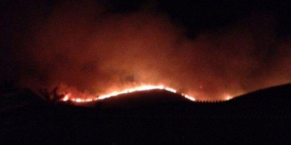 Požar v okolici Trogira - 2