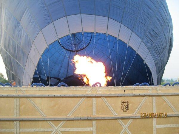 Posnetki z balona, ki jih je naredil udeleženec T. Šimenc - 2