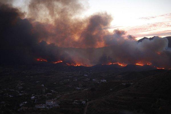 Požar v Španiji