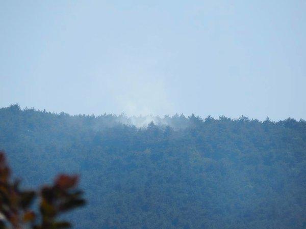 Požar nad Renčami