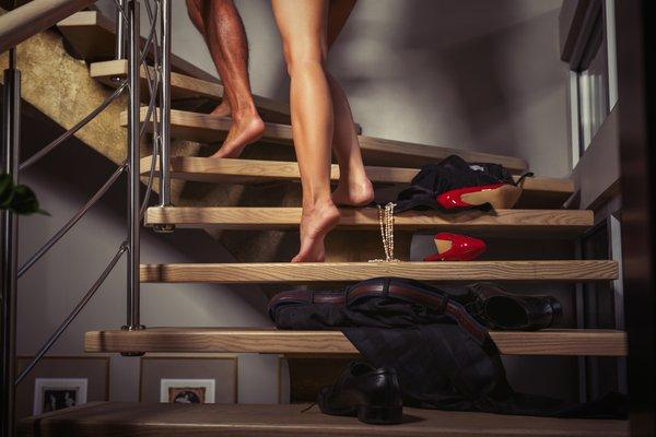 Par na poti v spalnico