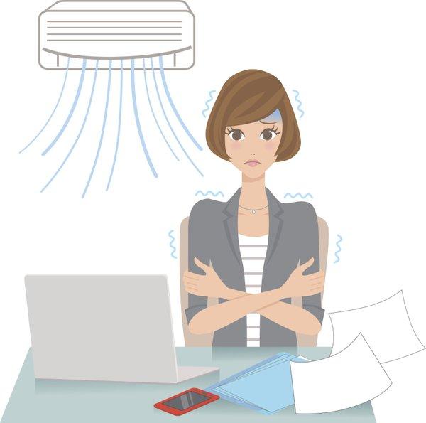 Klima v pisarni