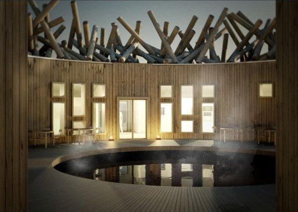 Arctic bath, hotel, Švedska