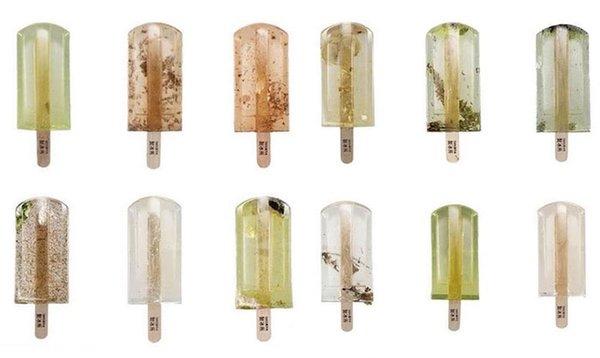 onesnažene sladoledne lučke