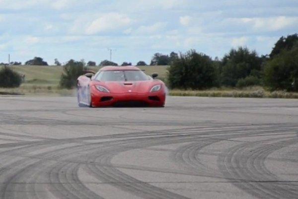 Koenigsegg agera v Guinnessovi knjigi rekordov - 1