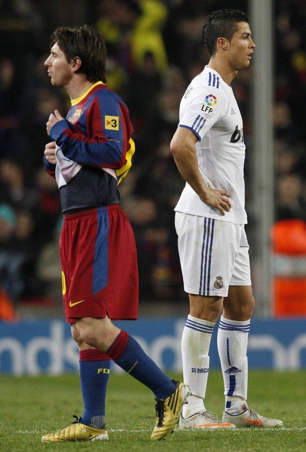 Lionel Messi in Cristiano Ronaldo