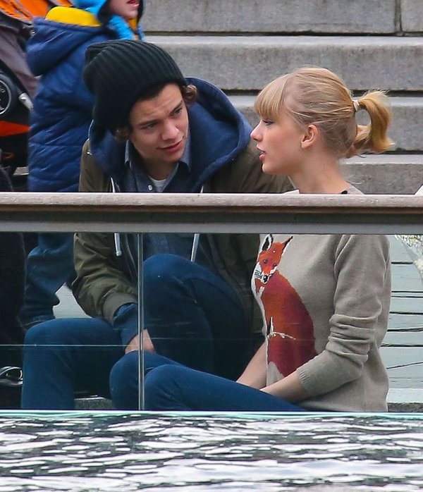 Taylor Swift in Harry Styles - 8