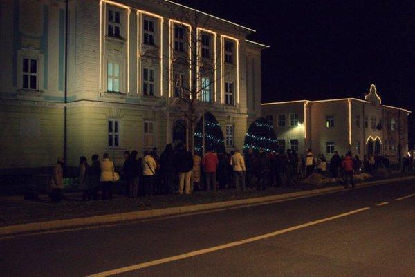Protesti v Postojni - 1
