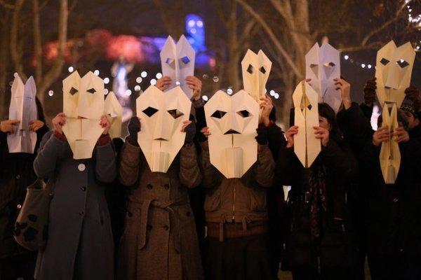 Protest na Kongresne trgu - 1