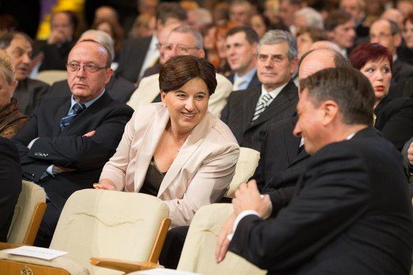 Vinko Gorenak, Ljudmila Novak in Borut Pahor