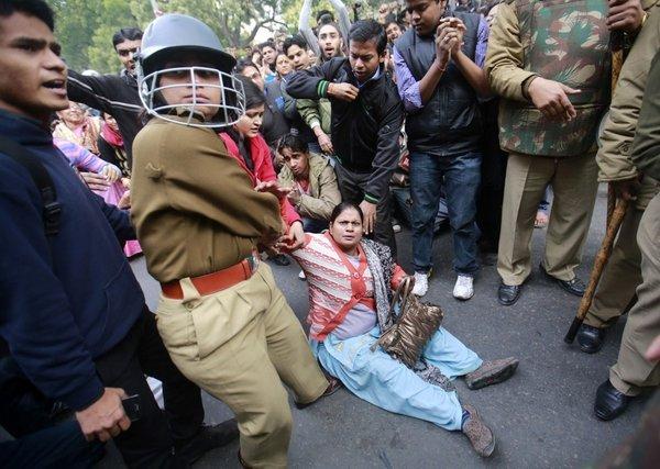 Protesti v Indiji - 8