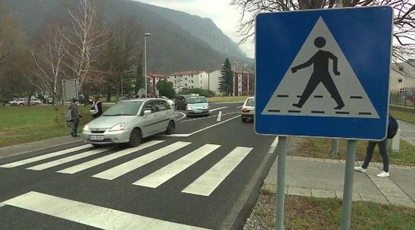 Prometna nesreča v Vipavi