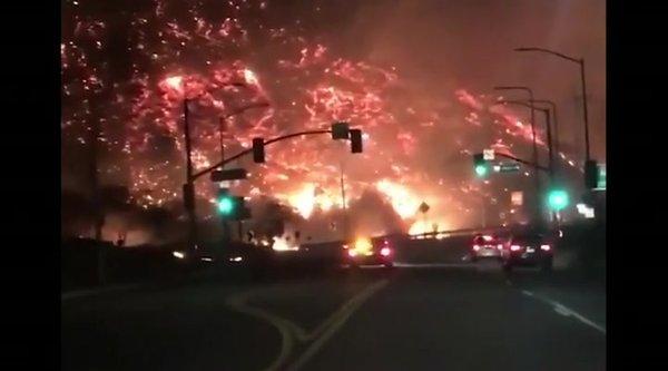 Vožnja ob požaru