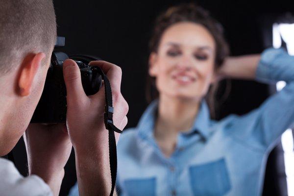 fotograf in model