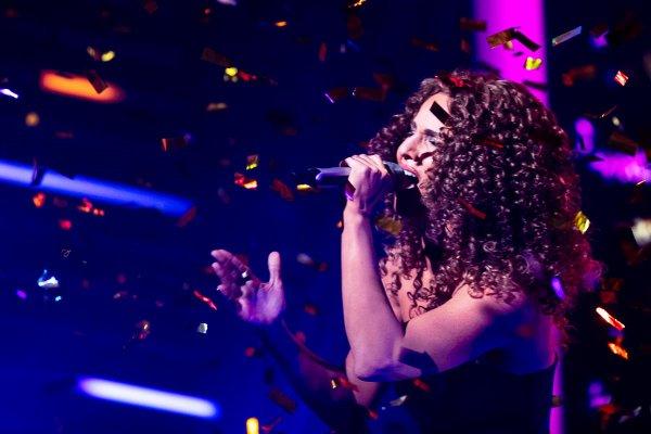 Lea Sirk kot Leona Lewis