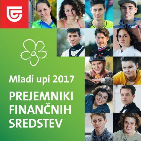 mladi upi 2017, banner, kolaž, prejemniki finančnih sredstev