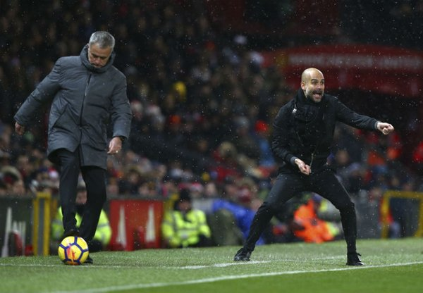 Jose Mourinho Josep Guardiola