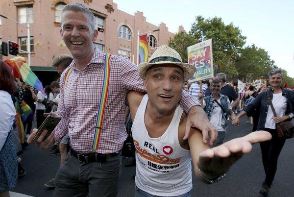 Istospolne poroke v Avstraliji