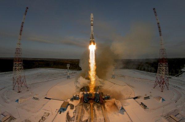 Sojuz s satelitom Meteor M
