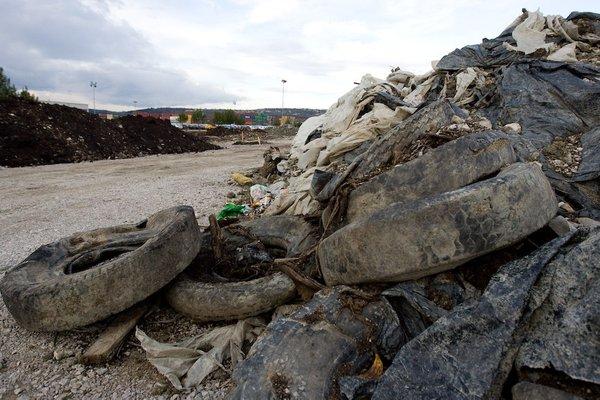 Odlagališče smeti v Kopru