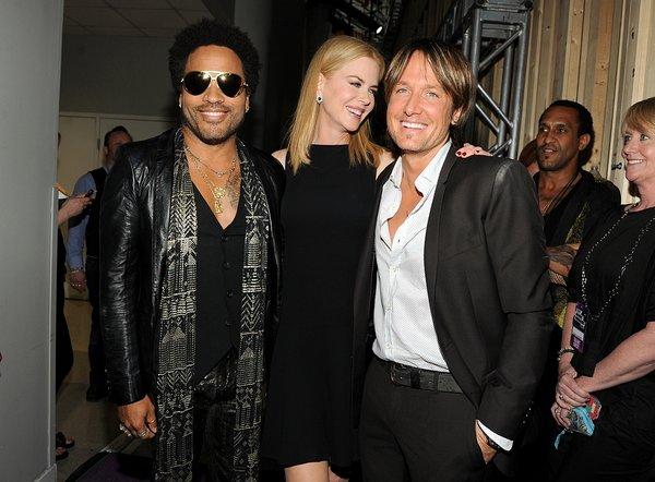 Lenny Kravitz, Nicole Kidman in Keith Urban