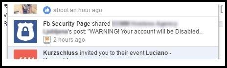 Phishing napad