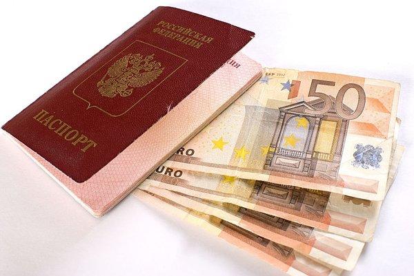 Ruski potni list in evri