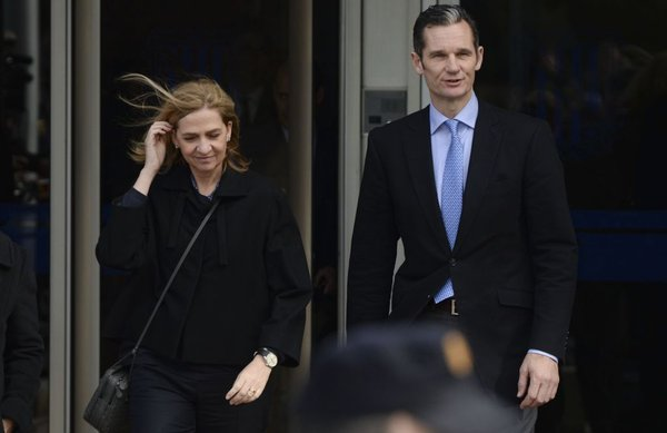 Princesa Cristina in njen mož