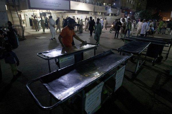 Eksplozija v Pakistanu